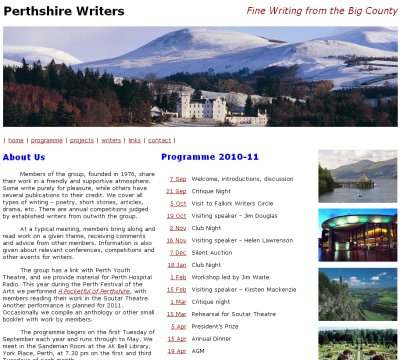 perthshire writers