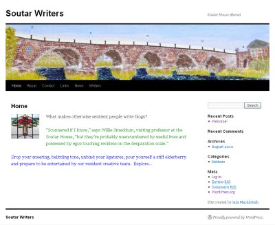 soutar writers